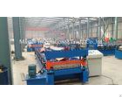 Steel Profile Roofing Corrugated Sheet Roll Forming Machine 0 3 0 8mm Thickness