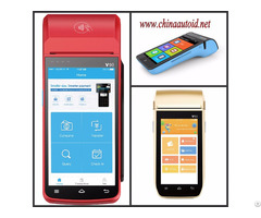 Handheld Mobile Smart Pos Terminal For Hotels