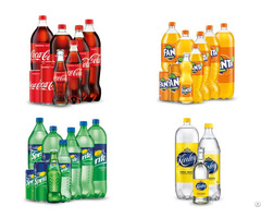 Coca Cola Fanta Sprite Kinley Drinks In Pet Bottles And Cans