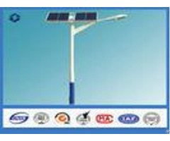 8m Two Panels Solar Light Pole 160 Km Hour Wind Speed Against Earthquake Of 8 Grade