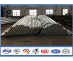 69kv Hdg Octagonal Galvanized Steel Pole For 30ft 35ft Distribution Burial Type