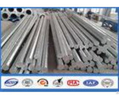 Nea Astm A 123 Galvanized Steel Pole 2 Safety Factor Against Earthquake Of 8 Grade