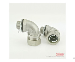 Hot Selling Stainless Steel 90d Liquid Tight Conduit Fittings