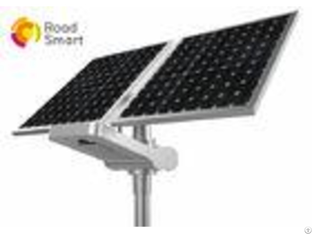 Highway High Power Solar Street Light 3000k 6500k With Bridgelux Led Chip