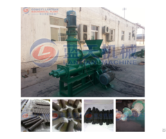 High Pressure Coal Rods Machine