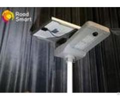 Waterproof Intelligent Solar Street Light 2500 2800lm With Aluminum Alloy Body