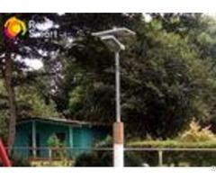Professional Solar Powered Led Pole Lights Motion Sensor For Yard Garden