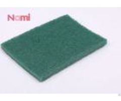 Nylon Green Abrasive Scrubbing Pads High Durability With Open Web Design