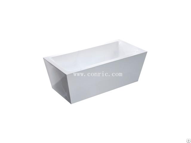 Chinese Rectangle Portable Acrylic Freestanding Bathtub