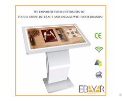 Andriod Interactive Digital Signage Kiosk Factory In China Floor Standing Style Touchable Showcase