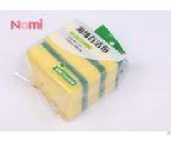 Kitchen Cleaning Scouring Pad Sponge Superior Detergency Power Sgs Certification