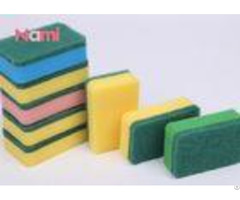 Super Abrasive Scouring Pad Square Kitchen Cleaning Scrubber Soft Tough