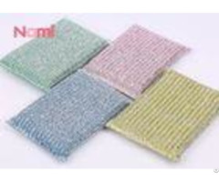 Non Scratch Scouring Pad Sponge Durable Good Elasticity Easy To Clean