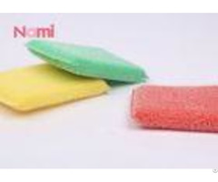 Household Heavy Duty Scouring Pad Sponge Anti Bacterial Strong Decontamination