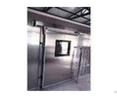 Convex Cold Storage Doors 100mm Thickness With Window Heating Coil Ce Approved