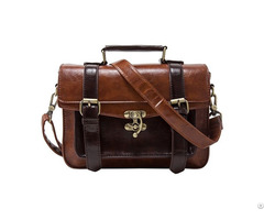 Retro Women S Faux Leather Satchel Purse Small School Crossbody Messenger Pu College Bags