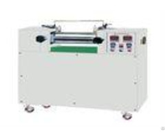 Desktop Quality Control Testing Equipment Double Roll Small Rubber Mixing Machine