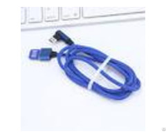 Universal Usb Power Cable Right Angle 90 Degree Lightweight For Android Phone