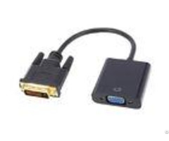 1080p Dvi To Vga Cable Adapter Connector Mini Displayport Support Video Output