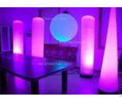 Ed25 3m Inflatable Lighting Decoration Light Cone Party Event With 24 W Led Lamp