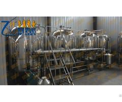 Micro Brewery Plant For Factory Production Of Beer