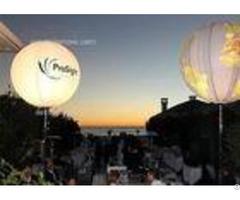 Halogen 2000w Event Balloon Outdoor Wedding Reception Lighting With Advertising Branding Logo