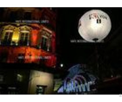 Ac230v 50hz White Inflatable Led Light Balloon T Plux 18 Technology For Confrence Events