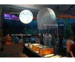 Warm Neutral White Led Balloon Luminaid Inflatable Light Advertising Logo Customized