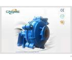 Heavy Duty Water Slurry Pump Sh 150e To Deal With Coarse Tailings