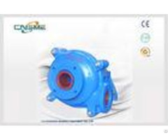 High Efficiency Horizontal Slurry Pumps Sh 3 Inch For Mining Tailings
