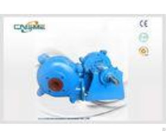 Slag Silt 3 Inch Hard Metal Slurry Pumps For Mining 75d High Chrome