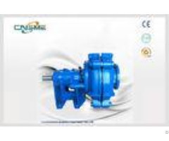 Tailings Heavy Duty Slurry Pump Metal Lined 120kw Sh 100e 5 Vane Closed