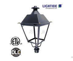 Lightide Dlc Premium Led Post Top Lights Ptb50