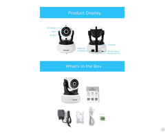 Sricam P2p Sp017 720p Onvif Sd Card Indoor Ip Camera
