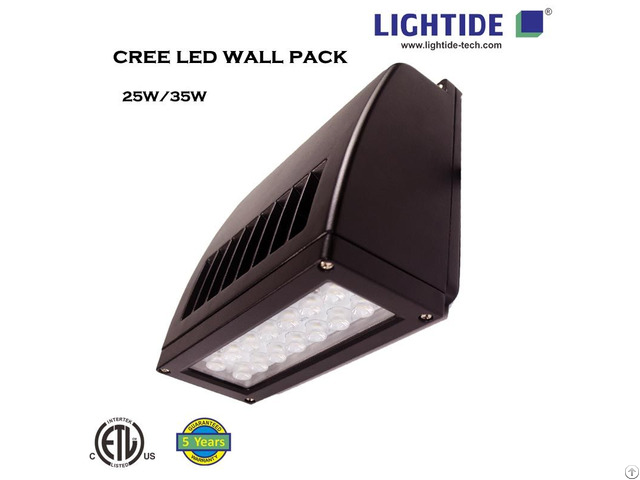 Lightide Slim Full Cut Off Cree Led Wall Pack Wpsla Series
