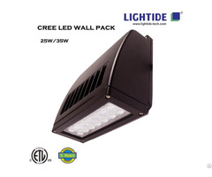 Lightide Slim Full Cut Off Cree Led Wall Pack Wpsla Series