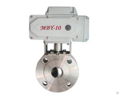 Ultra Short Face Dimension Electric Ball Valve