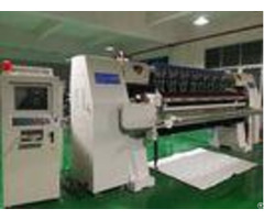 High Rigidity Computerized Chain Stitch Quilting Machine 7 Kw Ce Certificated