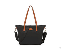 Women S Nylon Tote Waterproof Crossbody Bags With Black Adjustable Strap Beach Shoulder Handbag