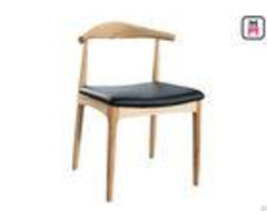 Comfortable Commerical Wood And Upholstered Dining Chairswith Custom Color