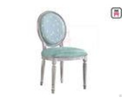 Armless Vintage Metal Chairs Round Back Wedding Reception Chairswith Button Copper Pins