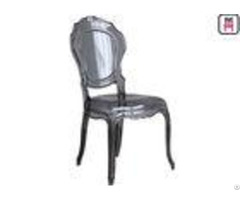 Light Weight Bella Ghost Plastic Restaurant Chairs Arm Armless For Indoor Outdoor