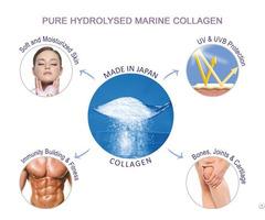 Pure Hydrolyzed Marine Collagen Peptide