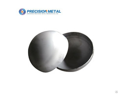 Carbon Steel Hemisphere Head For Tube In Pipe Fittings