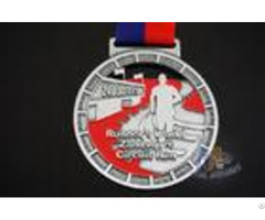 Races Running Riding Dancing Sports Events Metal Award Medals Zinc Alloy Material With Ribbon