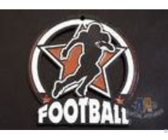 Matt Black Plating Custom Football Glow In The Dark Medals Hallowmas Gifts For Kids Oem Available