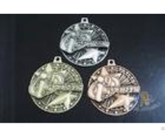 Two 3d Stars Custom Funny Football Engraved Sports Medals Souvenir Medallion Personalized Oem