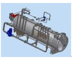 Food Sterilization Equipment For Flexible Packaging Full Automatic Rotary System
