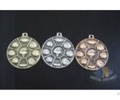 High Quality Zinc Alloy Pewter 3d Die Cast Medals For Sport Meeting Army Awards With Antique Cop