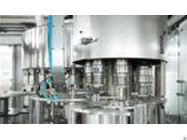 High Speed Bottled Water Filling Machine Multi Head Liquid Level Control